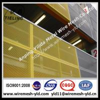 paint coated round hole perforated metal sheet,metal wire mesh for protection Manufactures