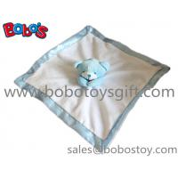 China Made Softest Blue Bear Baby Comforter Blanket In Wholesale Price Manufactures