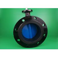 Worm Gear Operated  3 Inch  Flanged Butterfly Valve Size Customized Industrial Manufactures