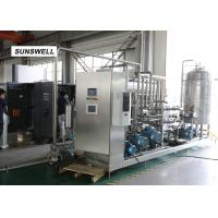 Automatic Carbonated Filling Machine With Automatic Mass Flow Mixer Reducing  Precision Error Manufactures