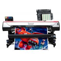 6.2 Feet Wide Format Indoor Printing Machine , Digital Printing Machine 4 Colors Manufactures
