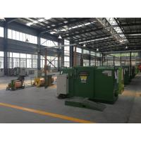 Cheap FUCHUAN high speed apple Green Copper Wire Bunching Machine , Cable Machinery for sale