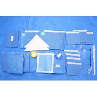 Breathable SMMS EO Sterile Fenestrated Drape Packs for Clinic Surgery Manufactures