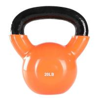 Vinyl Coated Gym Kettlebell 24 Kgfor Cross Training Swings Body Workout Manufactures