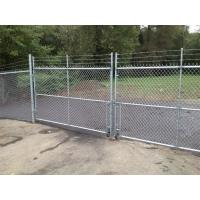 Knitting Security Fence Systems / Chain Link System For Multiple Applications Manufactures