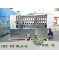 Cheap 3 Ton Per Day Ice Cube Machine / Commercial Grade Ice Machine ISO SGS BV for sale