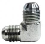 Adaptadores métricos de las colocaciones codo masculino de la unión del tubo de 37 grados SAE los # 070201 P/N ETX de Parker