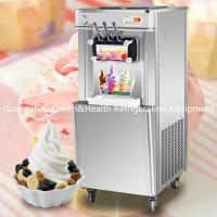 22L / H Low Noise Ice cream Making Machines Table Top With LED Display Manufactures