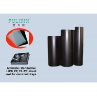 Black Embedded Conductive (Volume) Polystyrene Plastic Sheet for Vacuum Packaging Manufactures