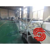 HDPE Double Wall Corrugated Pipe Machine , Single / Double Extruder