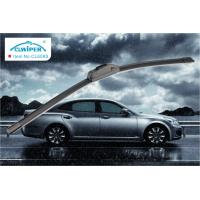 Auto Super Silicone Car Windshield Wiper Blades 12 Inch To 26 Inch Gray Color Manufactures