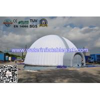 Large White Inflatable Tent Events With Two Doors , Inflatable Dome Tent For Party Manufactures