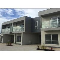 Residential Frameless Glass Railing , customized tempered Glass Balcony Balustrade Systems Manufactures