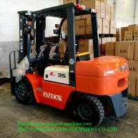 Hydraulic System 1070mm 3.5 Ton Diesel Forklift Truck Manufactures