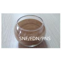 Cheap Poly naphthalene sulfonate SNF / PNS / FDN powder Construction / Textile Use for sale