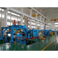 Heavy Duty Stainless Steel Coil Cut To Length Machine Electric Control System Manufactures