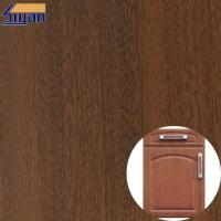 Matte And High Glossy Furniture PVC Wood Texture Film For Vacuum Press Manufactures