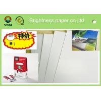 China Printable A4 Glossy Sticker Paper , Glossy Magazine Paper Customized Size on sale