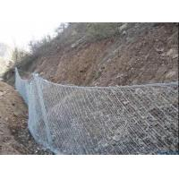 10m 30m Avalanche Gabion Protective Mesh / Passive rockfall protection systems Manufactures
