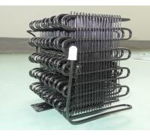 Wire Bundy Tube Refrigerator Condenser Unit For Cold Freezer , Cooler Condenser Manufactures