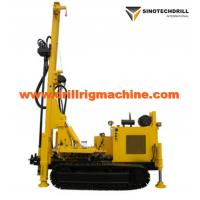 Cheap Rotary Drill Rig Machine For Water Well , Crawler Drilling Rig Geothermal Air Conditioner Hole for sale