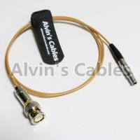 TIME CODE adapter cable for Red Epic Scarlet BNC plug to 4 pin Nor1438 Cable