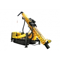 105mm Air Compressed Hydraulic DTH Rc Drilling Rig Manufactures