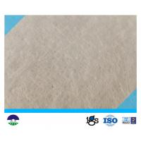 China 431G High Permeability Geotextile Drainage Fabric Non - Woven PP PET on sale