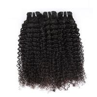 Natural Color Peruvian Body Wave Hair BundlesCurly Dancing And Soft 10