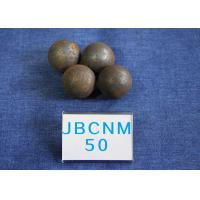 Cheap High Precision Steel Balls For Ball Mill , Small Steel Ball Mill for Coal Production D50mm Surface Hardness 62-63HRC for sale
