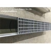 Malaysia Flat Bar Steel Grate Drain Cover For Residential Area Drainage Channels Manufactures