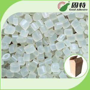 Cheap Transparent White EVA Particles Hot Melt Glue Adhesive granule for Packaging Like Henkel for sale