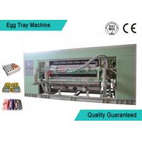 Cheap Fully Auto Molded Plastic Tray Making Machine For Egg Tray / Egg Carton / Seeding Cup Production Line for sale