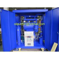 Movable Single Stage Vacuum Insulation Oil Purifie process machine,Transformer Oil recondition, Purification and filter Manufactures