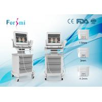 Hifu wrinkle removal and face lift machine with three cartridegs Manufactures