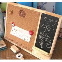 Magnetic Whiteboard Cork Board Combination Eye - Catching Design Manufactures