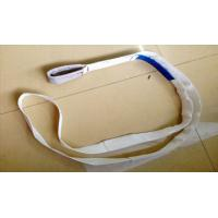 One Eye Endless Webbing Sling 350kg White Webbing Sling Safety Factor 7 To 1 Manufactures