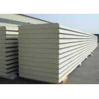 Insulated Polyurethane Sandwich Panel Polyurethane Foam Wall Panels For Clean Rooms Manufactures
