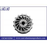 Stainless Steel Precision Metal Casting Impeller For Non Standard Parts Manufactures