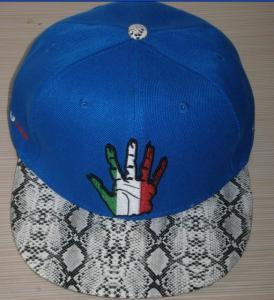 Buy cheap fashional custom flat brim hat from wholesalers
