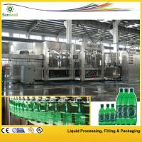 Cheap Soft Drink Carbonated Filling Machine , Line PET Bottle Glass Bottle for sale