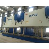 1200 Ton CNC Press Brake Bending Light Pole With 14 Meters Electro Hydraulic Servo System Manufactures