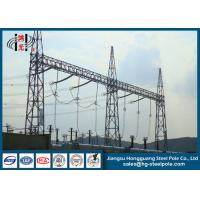China 10KV - 750KV Steel Substation Steel Structures for Power Transformer  Substation on sale