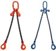 2 Legs Assemble Lifting Chain Slings Standard With Combine / Welded Chain Structure Manufactures