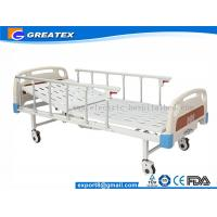Single Crank Manual Medical Bed / Medical Hospital Furniture ( GT-BM204 ) Manufactures