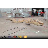 huge real like animatronic snake boa model Manufactures