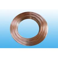 Steel Evaporator Tube 6.35 * 0.65 mm , Low Carbon Copper Coated Manufactures