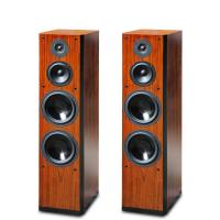 2015 Brand New Wood Finish Perfect Sound Floor Stand Home Speaker Dual 8 Inch Bass Driver Manufactures