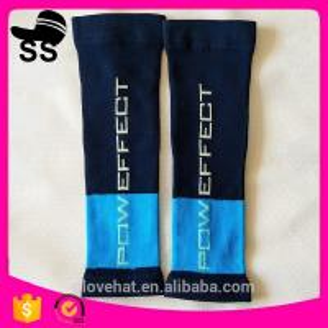 2017China Factory OEM Custom Designs 95% Nylon 5% Spandex Any Artworks 25cm 37g Slim Leg Calf Compression Sleeve Manufactures
