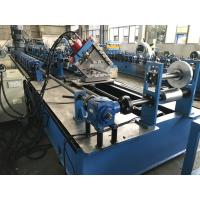 High Speed C Purlin Roll Forming Machine 75kw 70mm soild shaft Manufactures